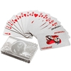 Image sur 10042-Decorative Silver plated playing card 24K