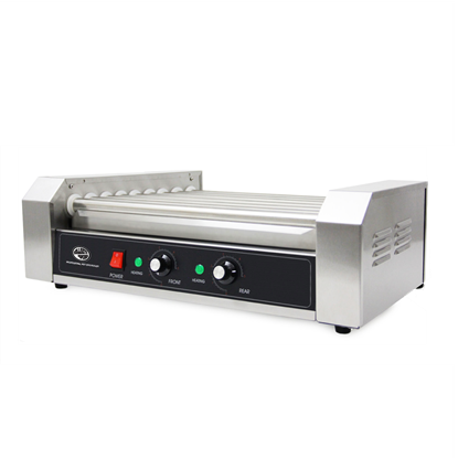 Image de Machine à hot dog commerciale 9 rouleaux