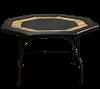 Image sur Table octogonale avec contour de bois
